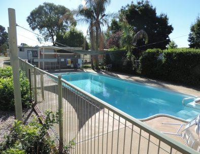 Enjoy the relaxing pool